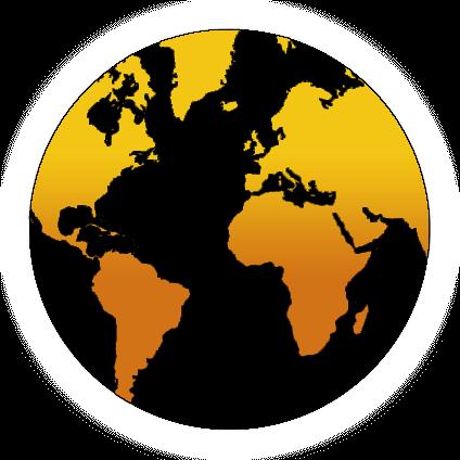 Predator World Globe
