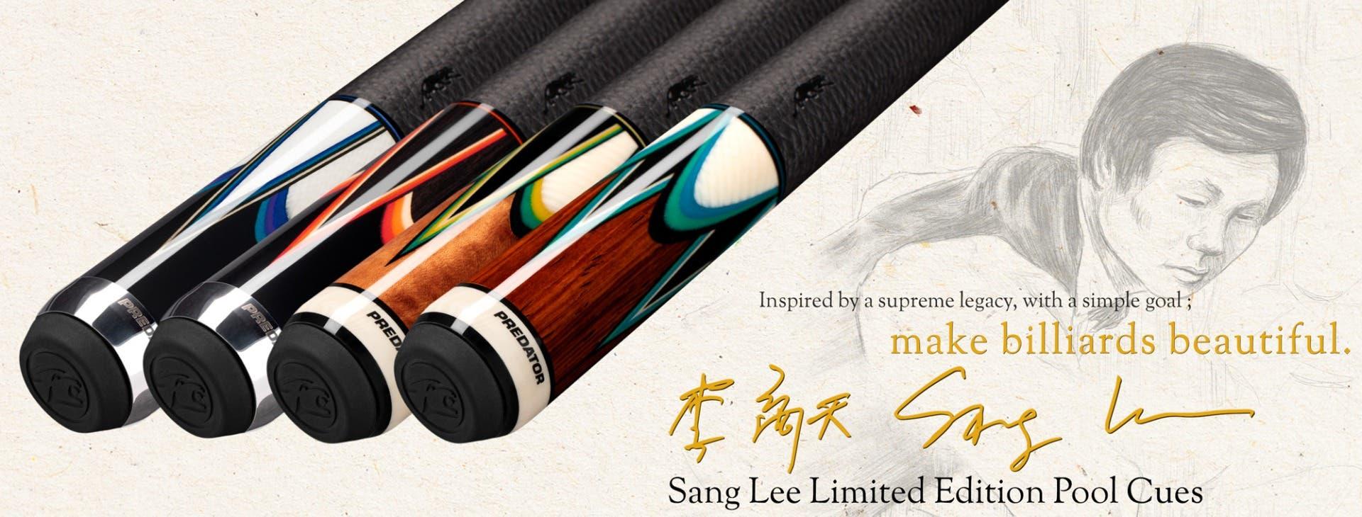 Sang Lee Limited Edition Pool Cues