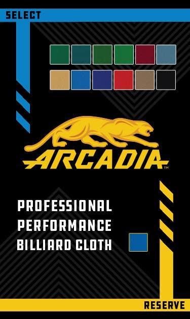 Predator Arcadia Pool Table Felt