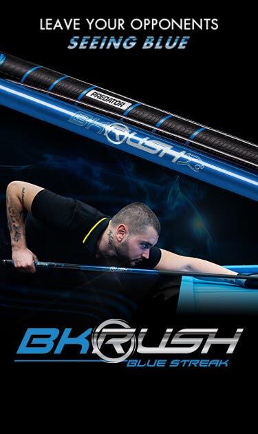 BK Rush Blue Streak Break Cue