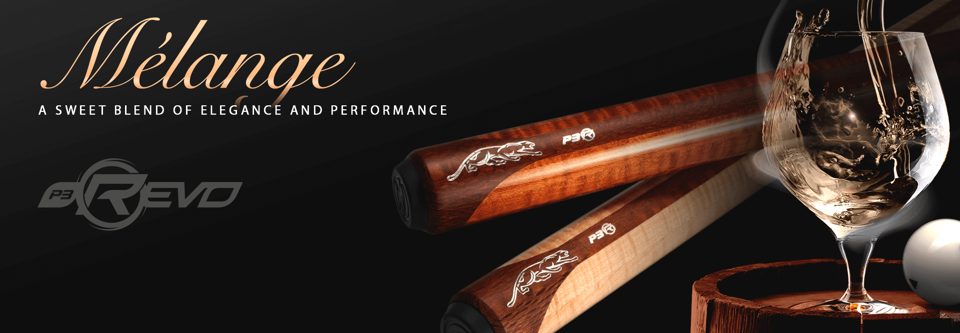 Predator P3 Melange Billiard Cues