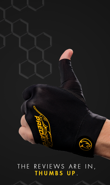 Predator Second Skin Billiard Gloves