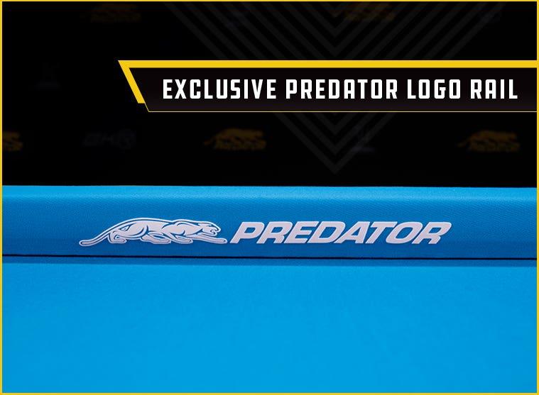 Predator Arcadia Pool Table Felt Logo