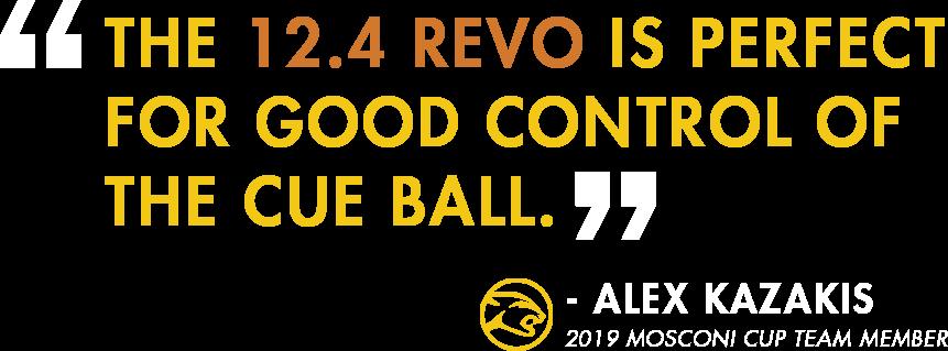 Alex Kazakis Revo Shaft Quote