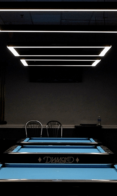 Predator Arena Billiard Lights by Lucid BallSports