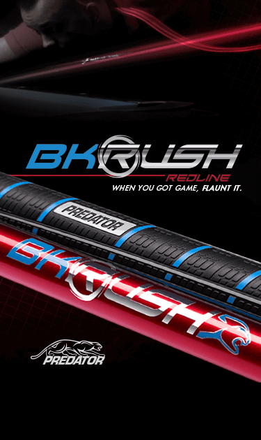 BK Rush Redline Red Break Cue