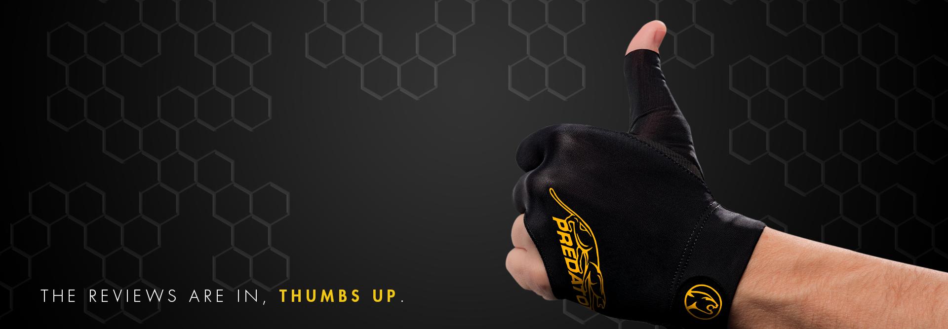 Predator Second Skin Pool Gloves