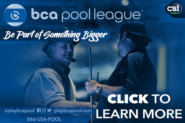 BCA Pool League