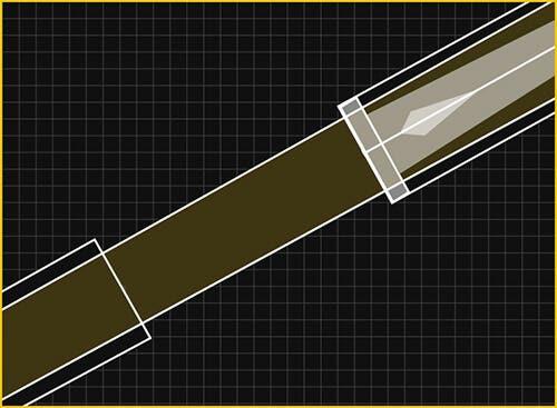 Predator Cored Forearm Construction