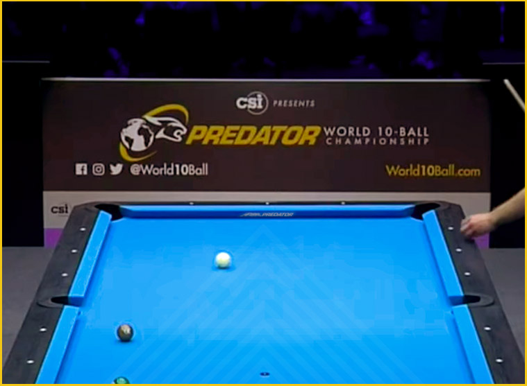 Predator Arcadia Reserve Pool Table Felt World 10-Ball Championship